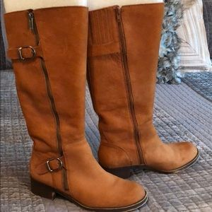 Lucky 🍀 Brand leather boots